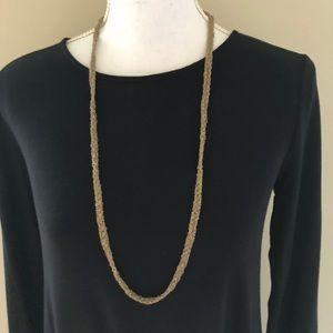 J. Crew Vintage Gold Twist Necklace